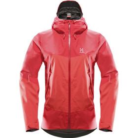 Haglöfs W's Virgo Jacket carnelia/crimson